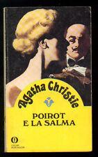 CHRISTIE AGATHA POIROT E LA SALMA OSCAR MONDADORI 1074 GIALLI 22 1979