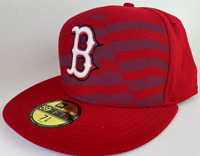 Boston Red Sox New Era Stars Stripes 4th of July Diamond Era Hat Cap NWT 7 5/8