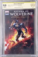 Return of Wolverine #1 CBCS SS 9.8 Clayton Crain Variant SIGNED