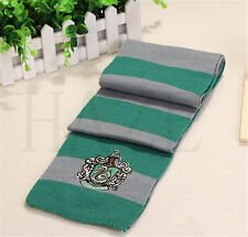 Harry Poter Gryffindor Hufflepuff Slytherin Knit Scarf Cosplay Costume 849#