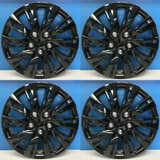 """Toyota Camry Style # 1037-15BLK 15"""" GLOSS BLACK Hubcaps / Wheel Covers NEW SET/4"""