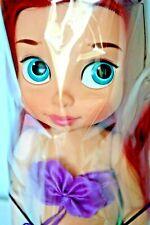 Disney Store Little Mermaid Ariel Animator Toddler Doll , Gift wrapped