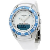 Tissot Sailing Touch White Dial Silicone Strap Unisex Watch T0564201701600