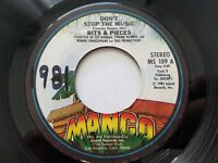 "BITS & PIECES - Don't Stop The Music 1981 REGGAE DISCO 7"" Mango Records NM-"
