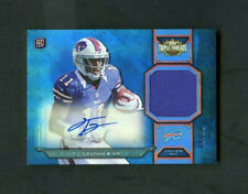 2012 T.J. Graham Topps Triple Threads Rookie RC Jersey Patch Auto /10 SSP
