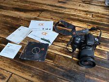 New listing Sony Alpha Dslr-A200 10.2Mp Digital Slr Camera - Black (Kit w/ Dt 18-70mm and.