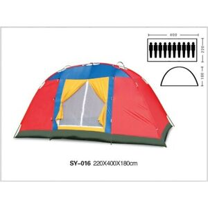 8-10 Person Large Family Camping Tents Waterproof Hiking Beach Outdoor Tent - AU