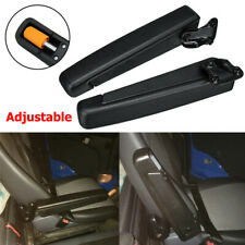 Right + Left Adjustable Car Seat Armrest For RV Van Motorhome Boat  Universal