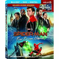 Spider-man: Far From Home (Blu-ray, 2019, 2 Discs) No digital code
