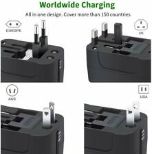 Wall Charger AC Power Plug Adapter Universal All in One Worldwide TravelAdapter