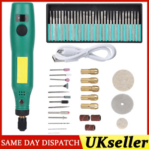 Portable Electric Carving Drill Tool Engraving Grinding Milling Rotary Pen Kits