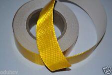 25m Lastwagen Anhänger HGV Gelb Reflektierendes Klebeband Sticker Aufkleber