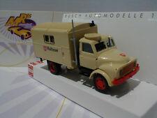 """Busch 50809 - Hanomag AL 28 MKW in beige """" Malteser Hilfswerk """" 1:87 Neuheit !!"""