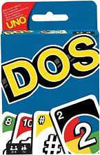Mattel Games DOS, juego de cartas de UNO (Mattel FRM36) (Dos)