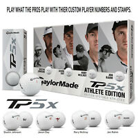 LIMITED EDITION TAYLORMADE  GOLF ATHLETE EDITION TP5X 3 BALL PACKS