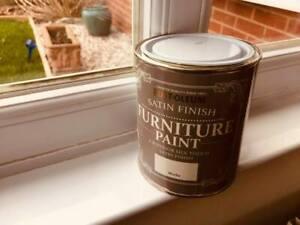 Rustoleum satin furniture paint Cotton 125ml