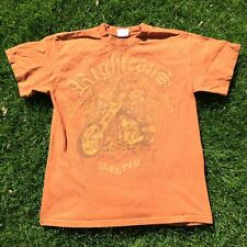 Motorcycle Chopper Mens Medium MD t-shirt tee shirt Clothing Harley Indian Hog