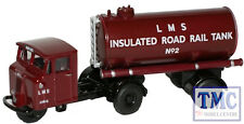 76MH010 Oxford Diecast 1:76 Scale OO Gauge LMS Mechanical Horse Tank Trailer