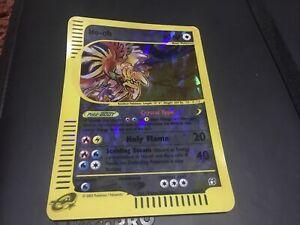 Pokemon Skyridge Promo Ho-Oh Jumbo Box Topper Promo PL