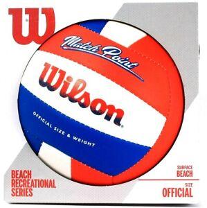 Wilson Match Point Official Size & Weight Surface Beach Recreational Series Ball