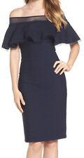 Tadashi Shoji Petite Off-shoulder Sheath Dress Size PM #2e1 82