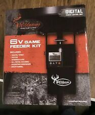 NEW WILDGAME INNOVATIONS 6V Game Feeder Kit w/ Digital Power Control Unit TH-6VD