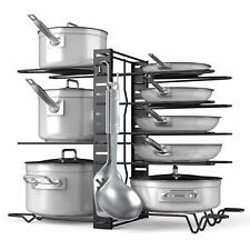 Adjustable 8+ Pots and Pans Organizer