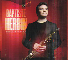 CD DIGIPACK - BAPTISTE HERBIN - INTERFÉRENCES