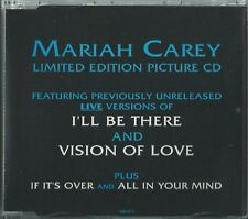 MARIAH CAREY - I'LL BE THERE 1992 UK 4 TRACK PICTURE DISC CD SINGLE PART 2