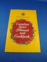 CANADIAN SPICE MANUAL AND COOKBOOK VINTAGE RECIPES CLUB HOUSE ADVERTIWSING