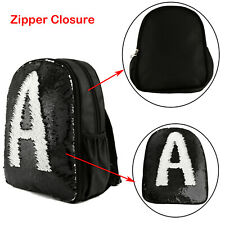 10x Reversible Sequin Kids School Backpack Sublimation Blank Customize Print Bag
