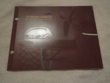 1997 PLYMOUTH PROWLER PURPLE MODEL INTRODUCTION PRESS RELEASE KIT W SLIDES RARE