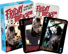 FRIDAY THE 13TH - PLAYING CARD DECK - 52 CARDS NEW - JASON 52319