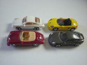PORSCHE 911 CLASSIC MODEL CARS SET 1:87 H0 - KINDER SURPRISE PLASTIC MINIATURES
