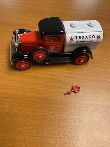 Liberty Classics Limited Texaco Ford Model A Tanker Truck Diecast Bank w Key