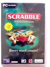 51333 - Scrabble 2003 Edition [NEW / SEALED]  - PC (2002) Windows XP