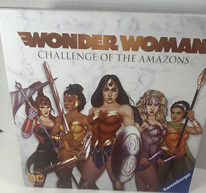 DC Wonder Woman Challenge of The Amazons Board Game Ravensburger Complete