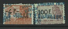 Belgium 2 Revenues, Used, Hinge Remnant - S5081