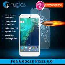 "2 X 100% Original Nuglas Google Pixel 5.0"" Protector de cristal templado japonés"