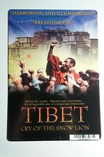 TIBET CRY OF THE SNOW LION COVER ART MINI POSTER BACKER CARD (NOT a movie dvd )