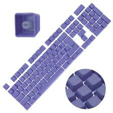Backlit Double Shot Color Keycaps Cherry MX Mechanical Keyboard Themes Purple