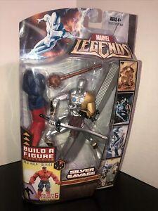 Marvel Legends Silver Savage (Surfer), Red Hulk BAF Set Sealed NEW MIP Rare