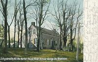 SCHUYLERVILLE NY – The Burton House of Revolutionary War Fame – udb–mailed 1908