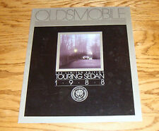 Original 1988 Oldsmobile Limited Edition Touring Sedan Deluxe Sales Brochure 88