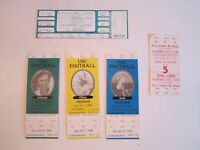 (3) 1994 USC COLLEGE FOOTBALL TICKETS (UNUSED) & 1979 & 1998 USC TICKETS - ABCD