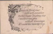 (tr1) Postcard: Christmas Greetings