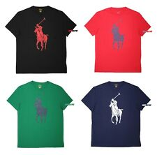 NWT Polo Ralph Lauren Men Classic Fit Big Pony Logo Crew Neck Tee T-Shirt