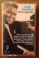 Fats Domino Whole Lotta Hits Cassette Tape