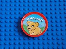 LEGO - POP BADGE ( LION CUB - LIGHT RED ) 2014