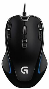 Logitech G300s Optical Gaming Maus 2500 DPI USB  PC & Mac Schwarz